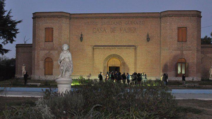 Casa Fader. Museo Emiliano Guiñazú. Uno de los especios culturas que desde este martes podrán disfrutar los turistas.