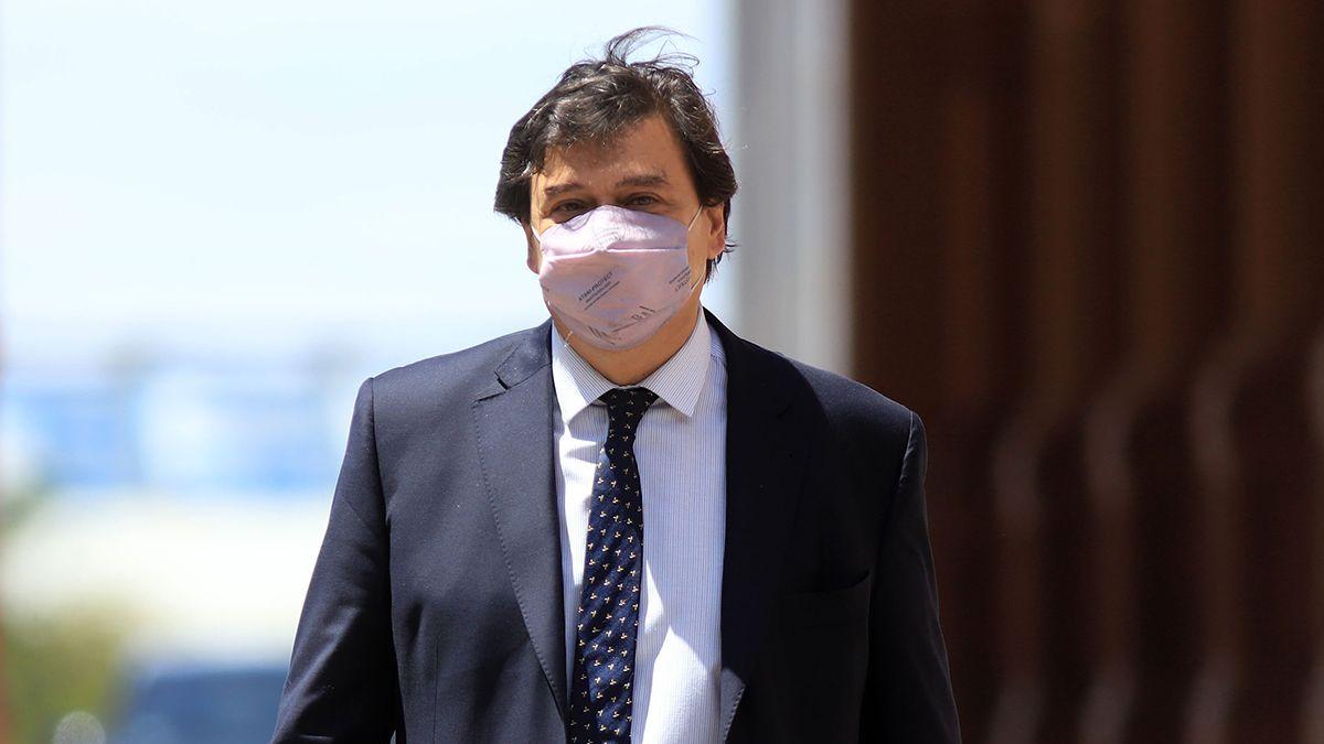 Claudio Moroni expuso en Diputados.
