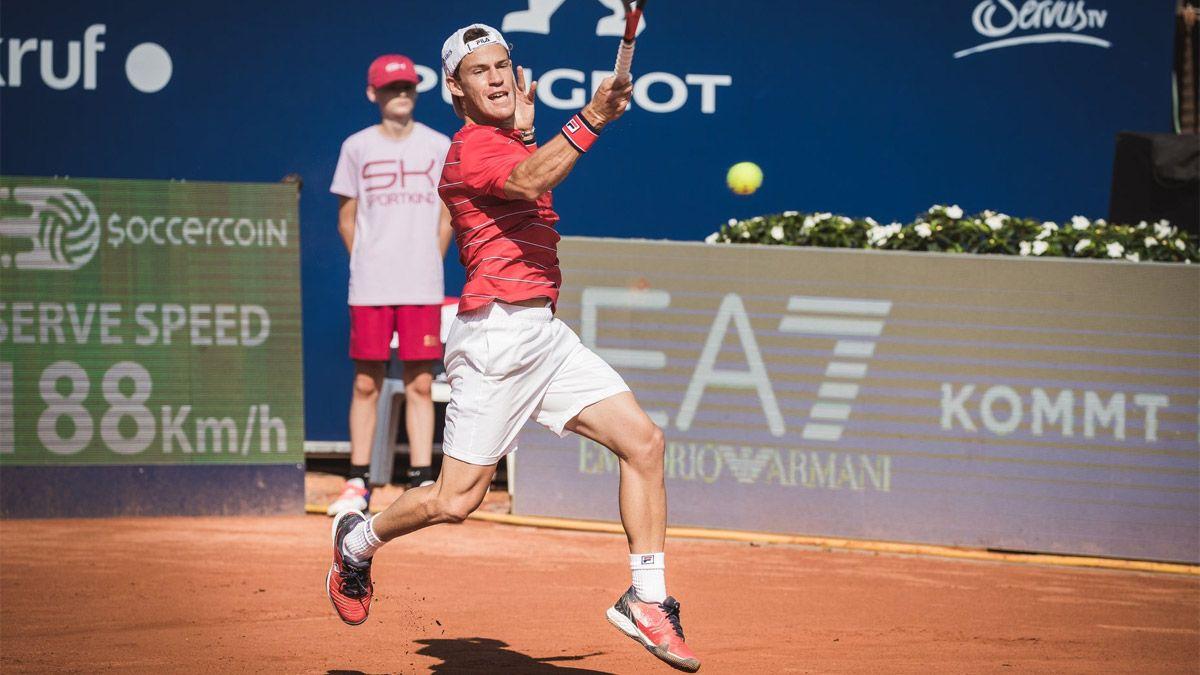 Diego Schwartzman No Puede Encontrar Su Buen Tenis
