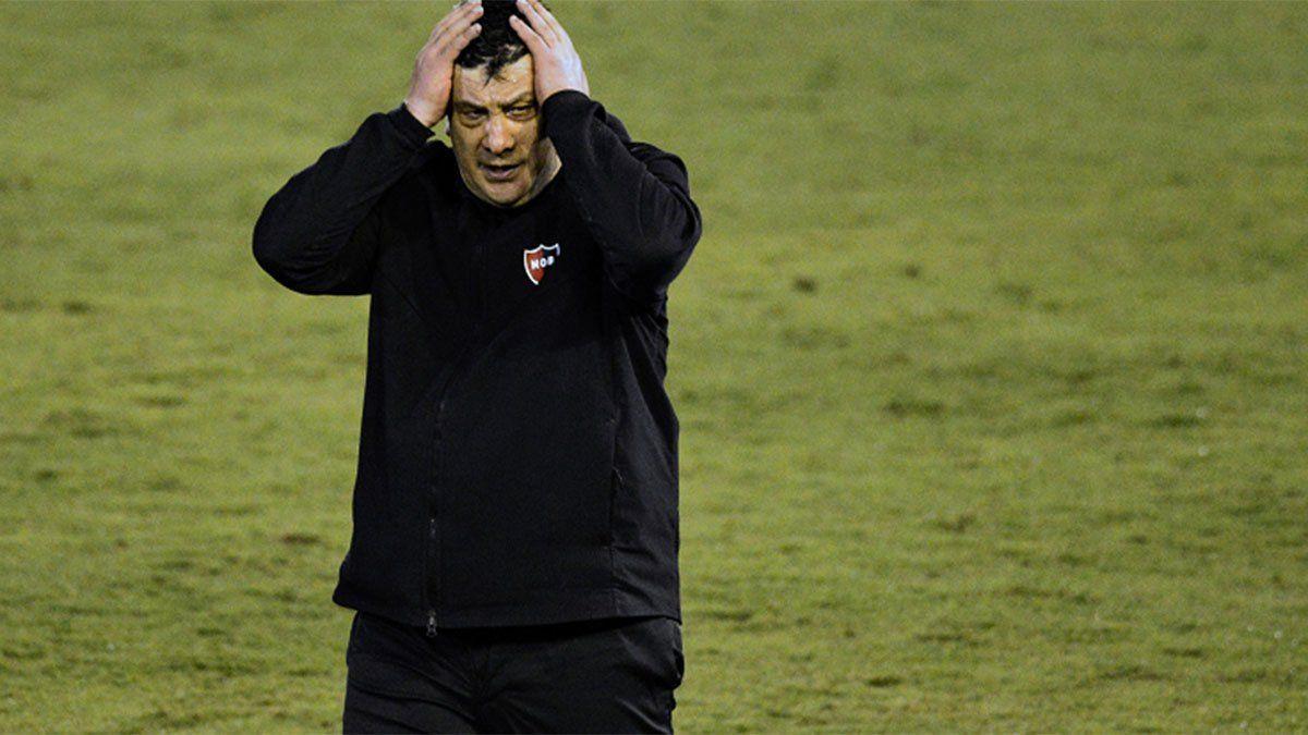 El Mono Burgos hizo una autocrítica tras su debut en Newells
