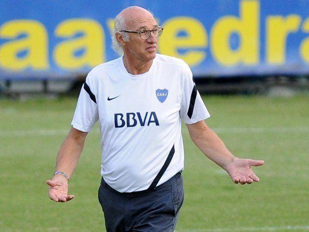 Bianchi no da indicios del equipo anti Independiente