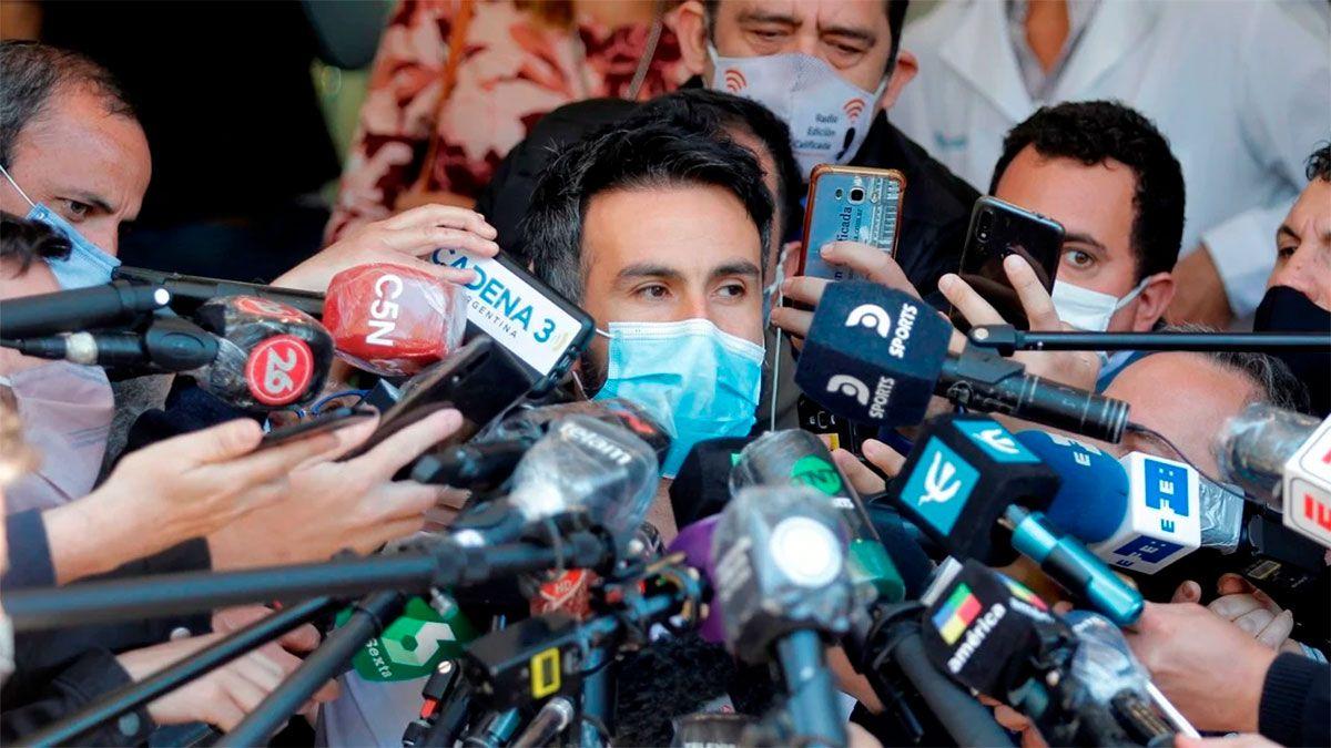 Diego Maradona y un nuevo parte médico sobre su salud