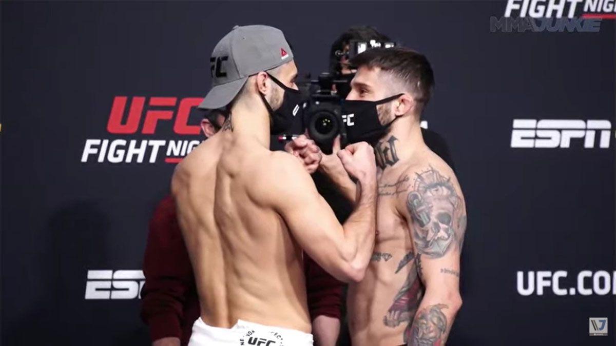 Marcelo Rojo será el cuarto argentino en debutar en la UFC