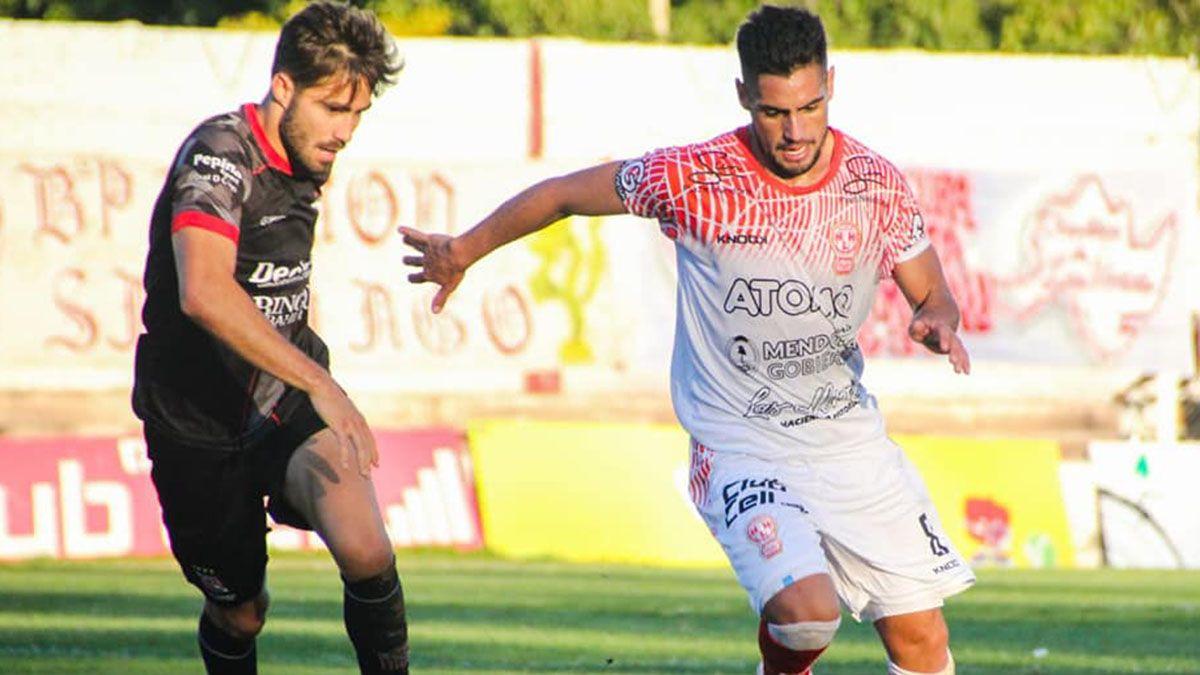 El volante Luis Daher opinó que los perjudica la postergación del fútbol.