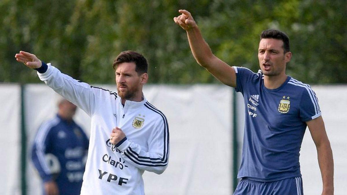 Scaloni llamó a tres jugadores de River para la Selección
