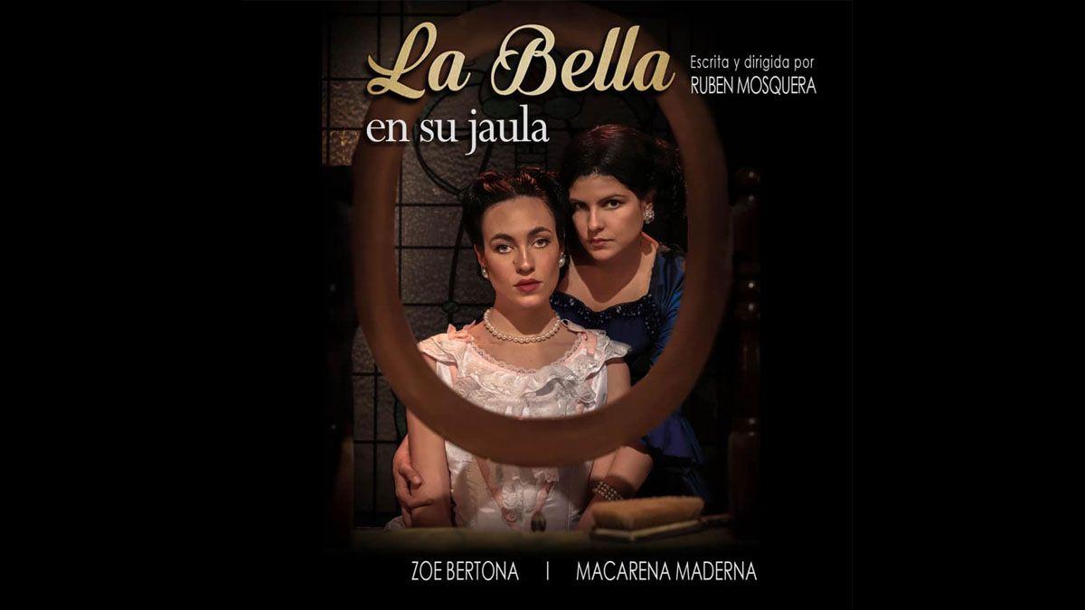 La mendocina Zoe Bertona protagoniza esta obra, donde nunca baja del escenario, y sólo tiene el apoyo de la coprotagonista en algunas escenas.
