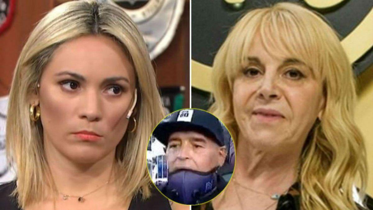 Claudia Villafañe furiosa con Rocío Oliva