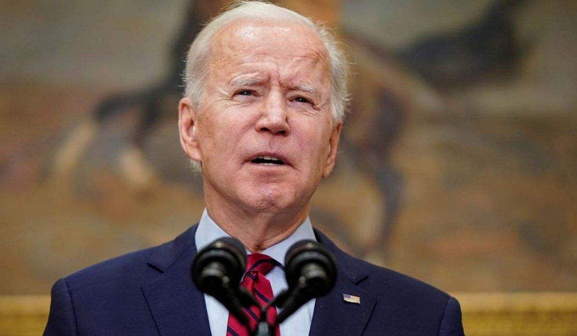 Acusaron a un hombre de amenazar de muerte al presidente Biden