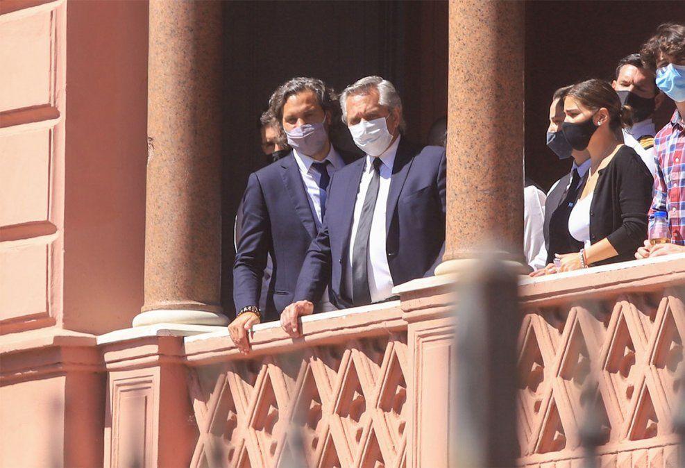 El presidente Alberto Fernández declaró ante la Oficina Anticorrupción haber recibido 277 obsequios en su primer año en la Casa Rosada. Foto: NA.