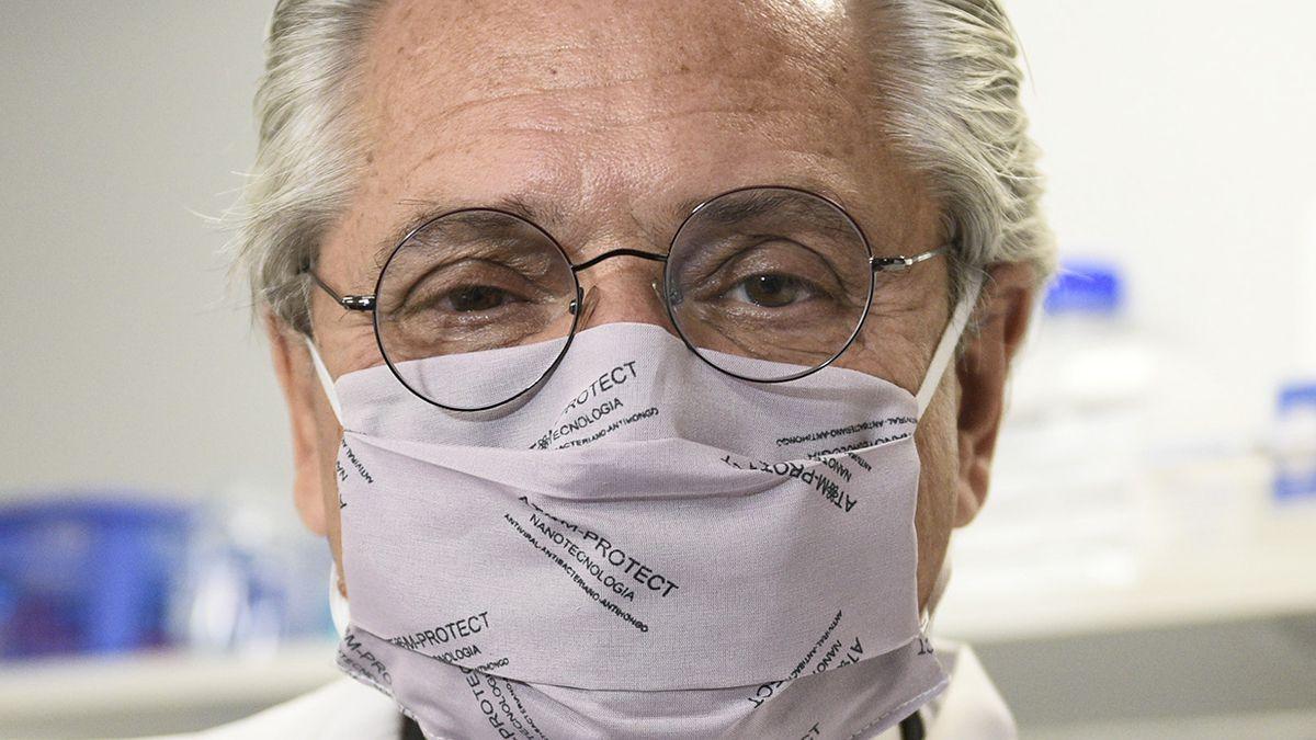 Alberto Fernández aclaró que nunca recibió un ofrecimiento de una donación de vacunas.