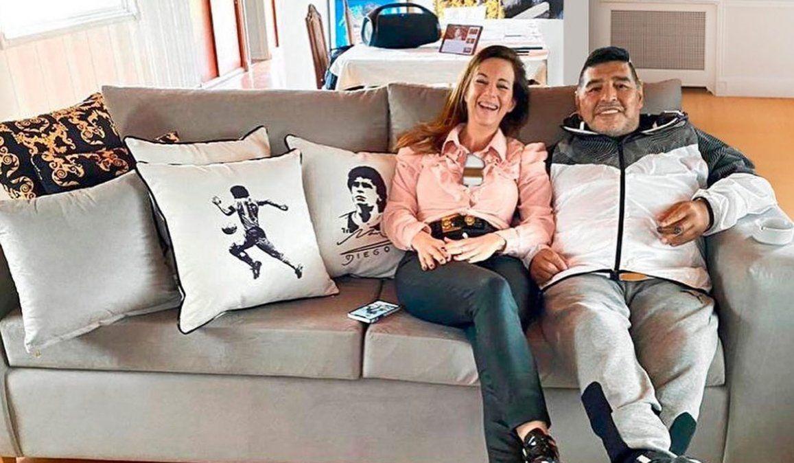 El día que Jazmín Garbini fue a la casa de Maradona