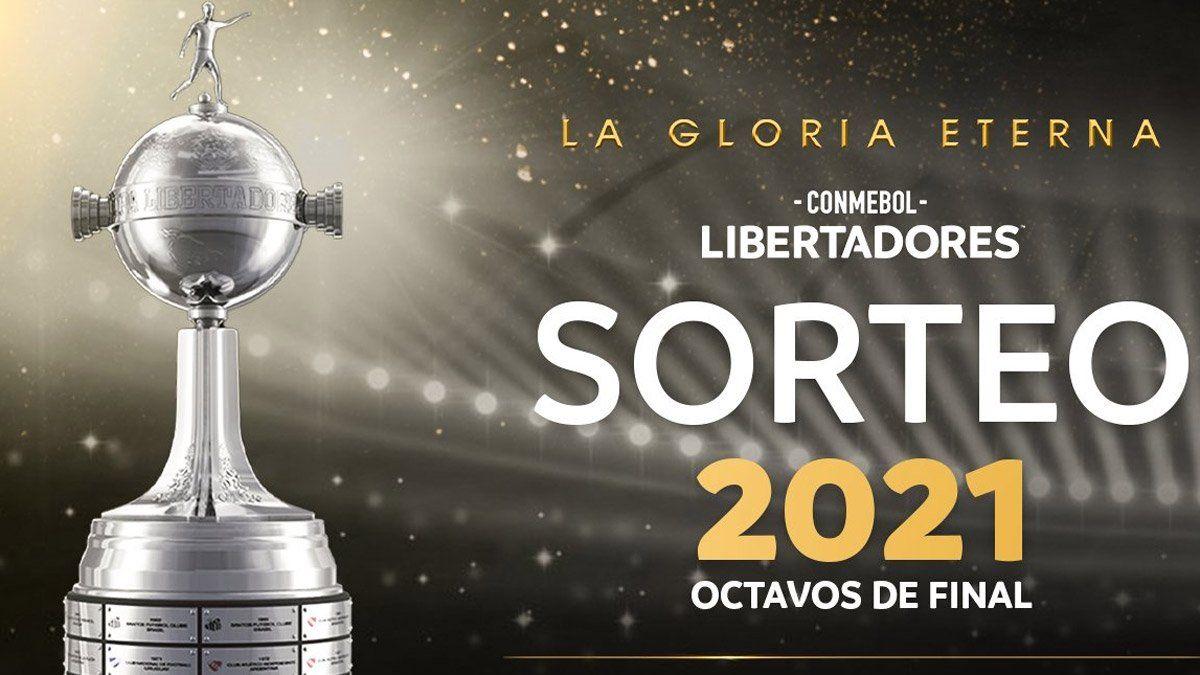 Así quedaron los cruces de octavos de final de la Copa Libertadores