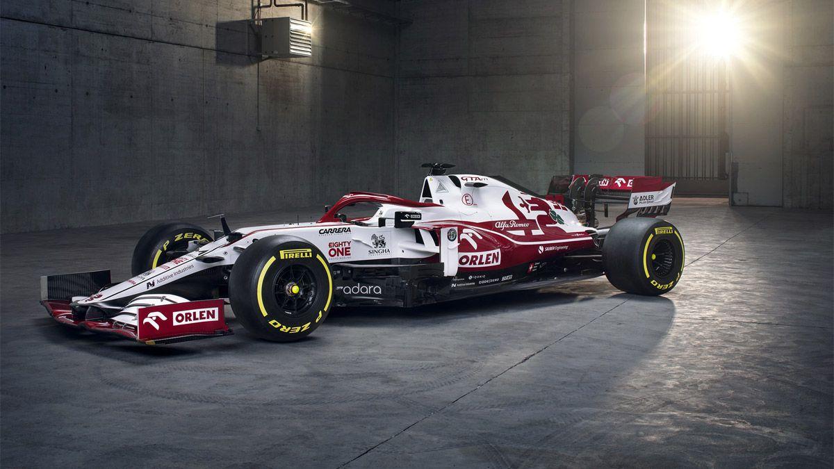Alfa Romeo C41, el nuevo monoplaza de Sauber para la F1