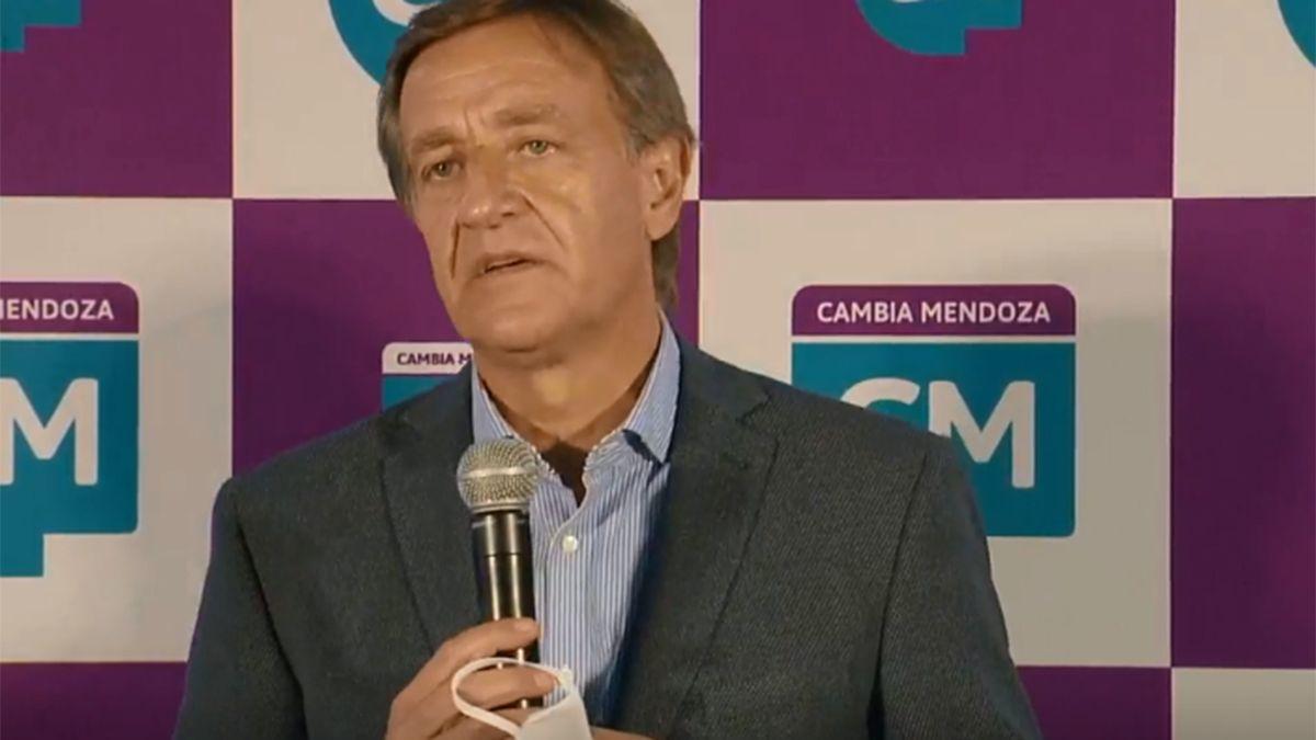 El gobernador Rodolfo Suarez será el primer suplente como senador nacional en la lista de Cambia Mendoza
