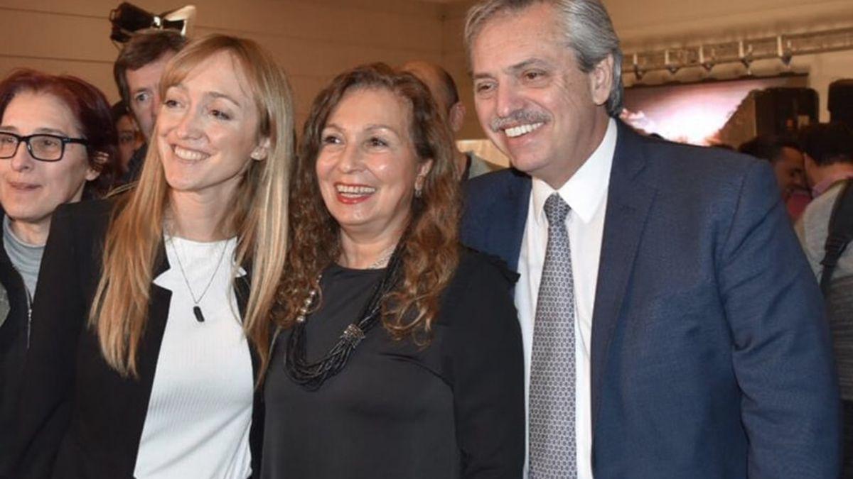 La senadora nacional Anabel Fernández Sagasti