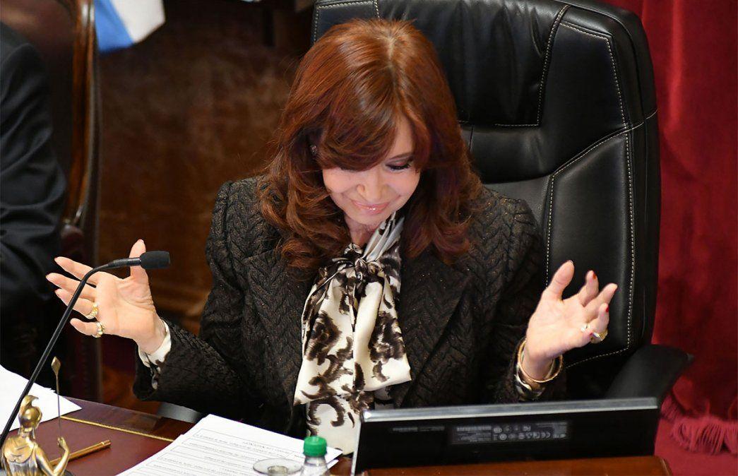 Cristina Kirchner preside el Senado