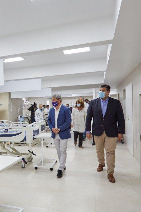 OSEP presentó la ampliación de la UTI del Hospital El Carmen