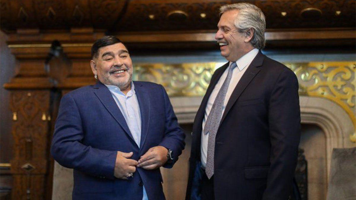Diego Maradona pidió la aprobación del impuesto a la riqueza