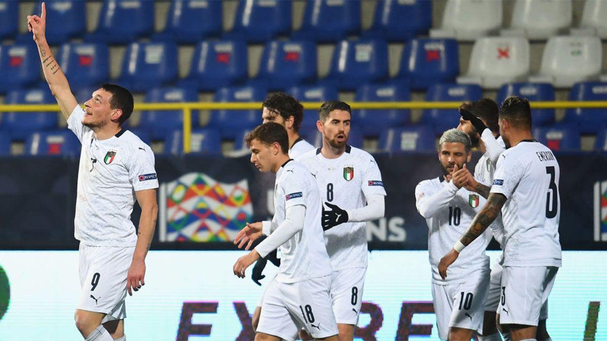 Italia se metió en las semifinales de la Liga de las Naciones