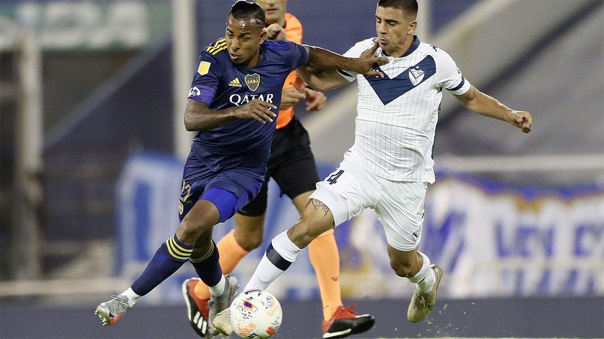 Boca aplastó a Vélez y llega con confianza al Superclásico