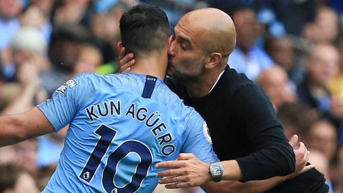 Guardiola y una advertencia sobre el Kun Agüero
