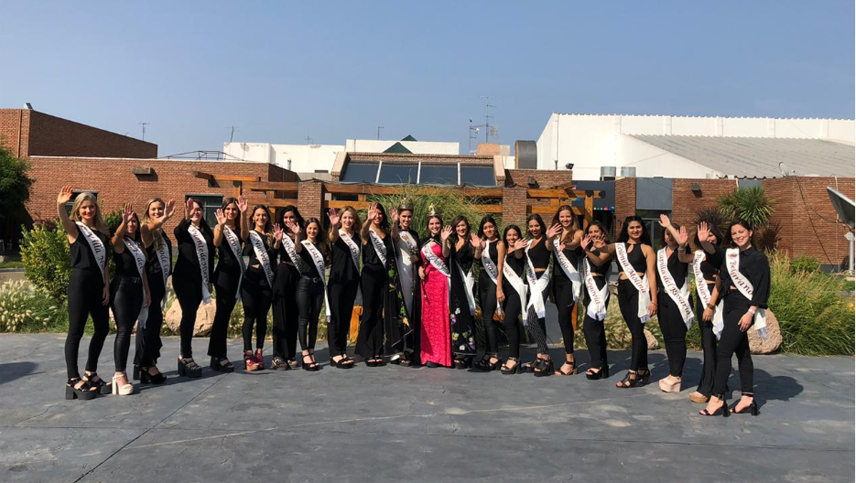Video: lo que no viste de las candidatas a reina de Guaymallén para la Vendimia 2020