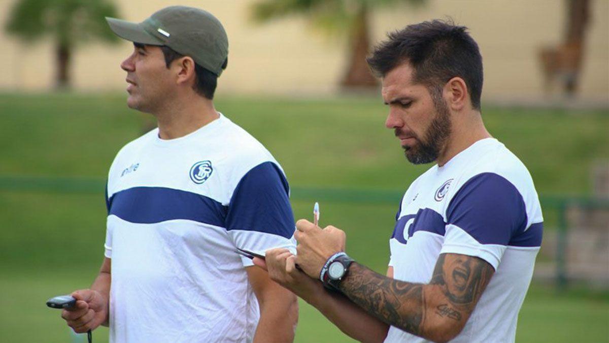 El Oso Agüero y Matías Minich volverán a trabajar juntos. Ahora los espera FADEP.