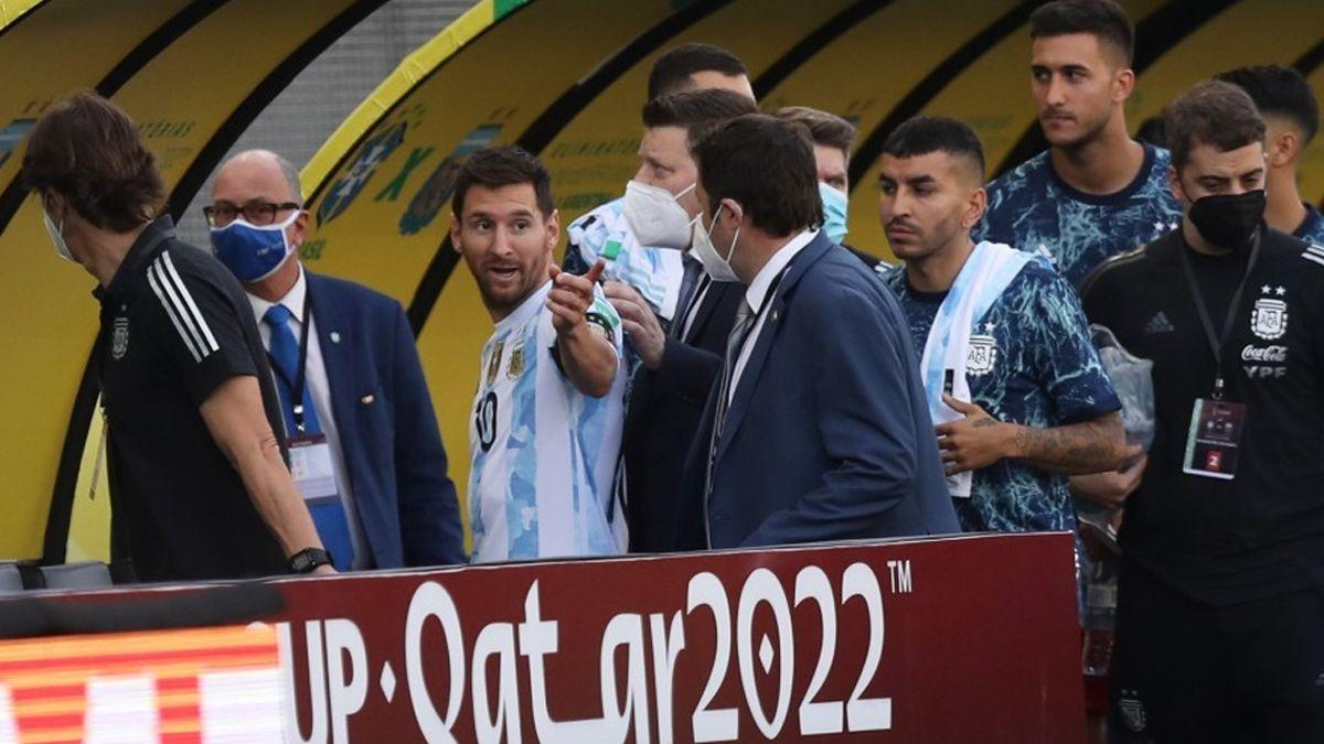 FIFA pidió informes de la suspensión de partido entre Brasil y la Selección Argentina.