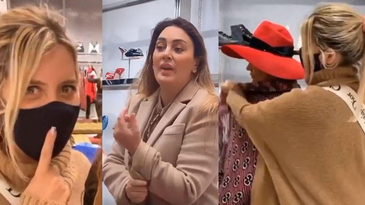 Sol Estevanez reveló la verdad detrás del costoso día de compras con Wanda Nara en París