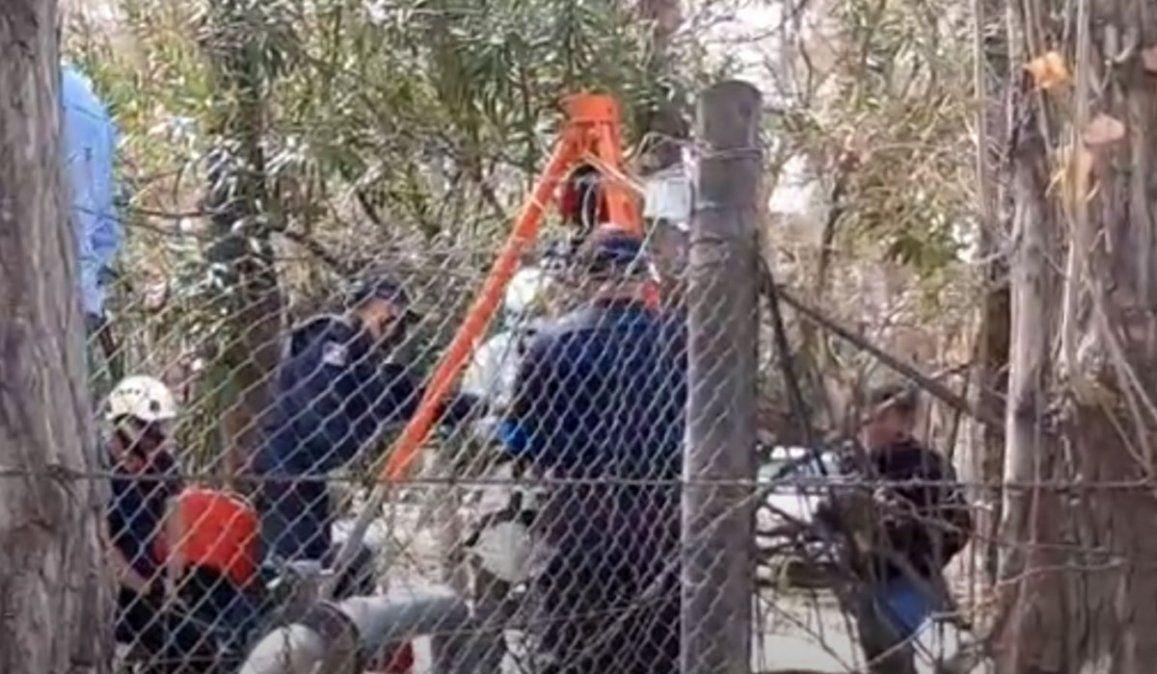 Femicidio en Mendoza: el cuerpo estaba en un pozo de 70 m