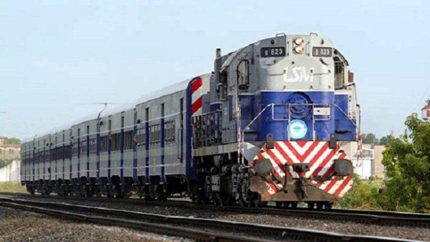 Ya se trabaja en el retorno del tren a General Alvear