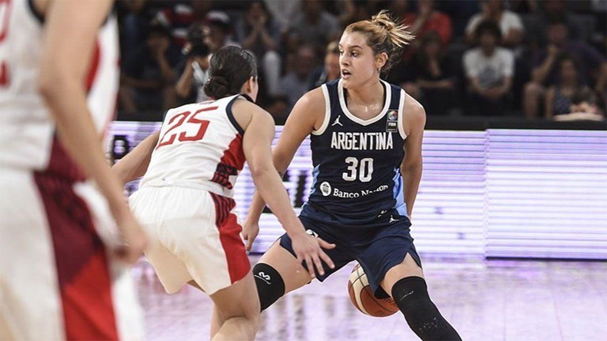 Florencia Chagas hace historia en la WNBA