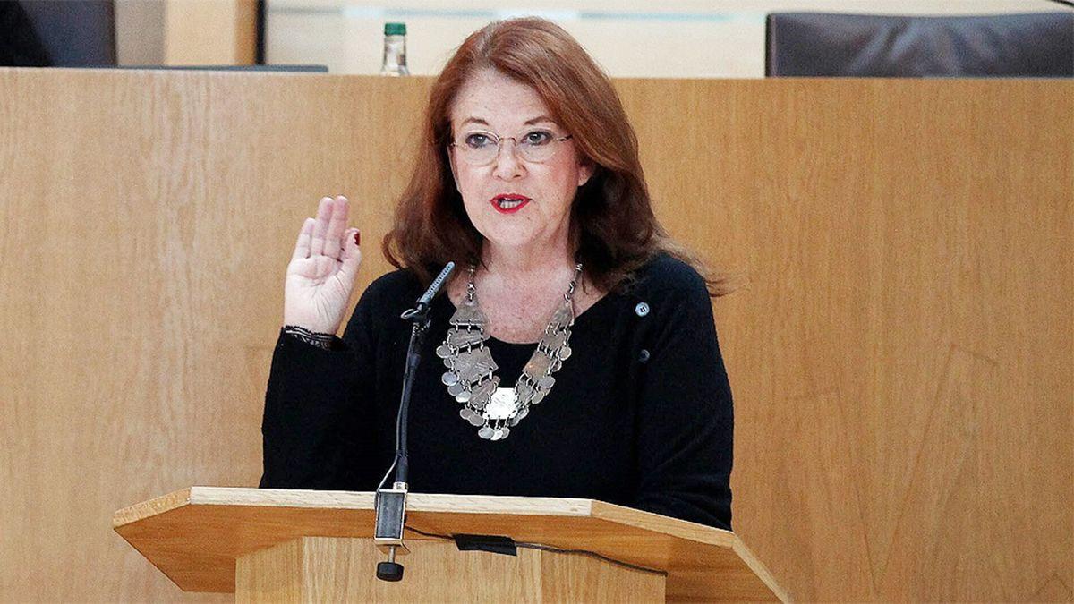 Alicia Castro realizó en varias oportunidades duros cuestionamientos al mandatario.