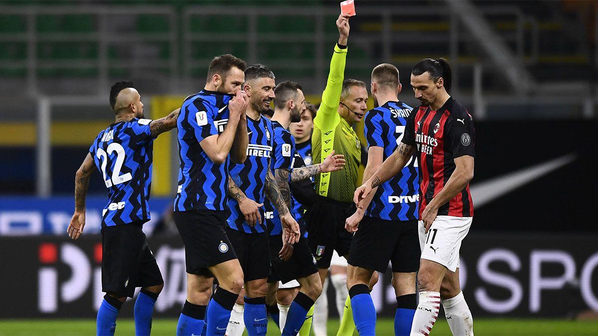 Picante cruce: Ibrahimovic y Lukaku se dijeron de todo