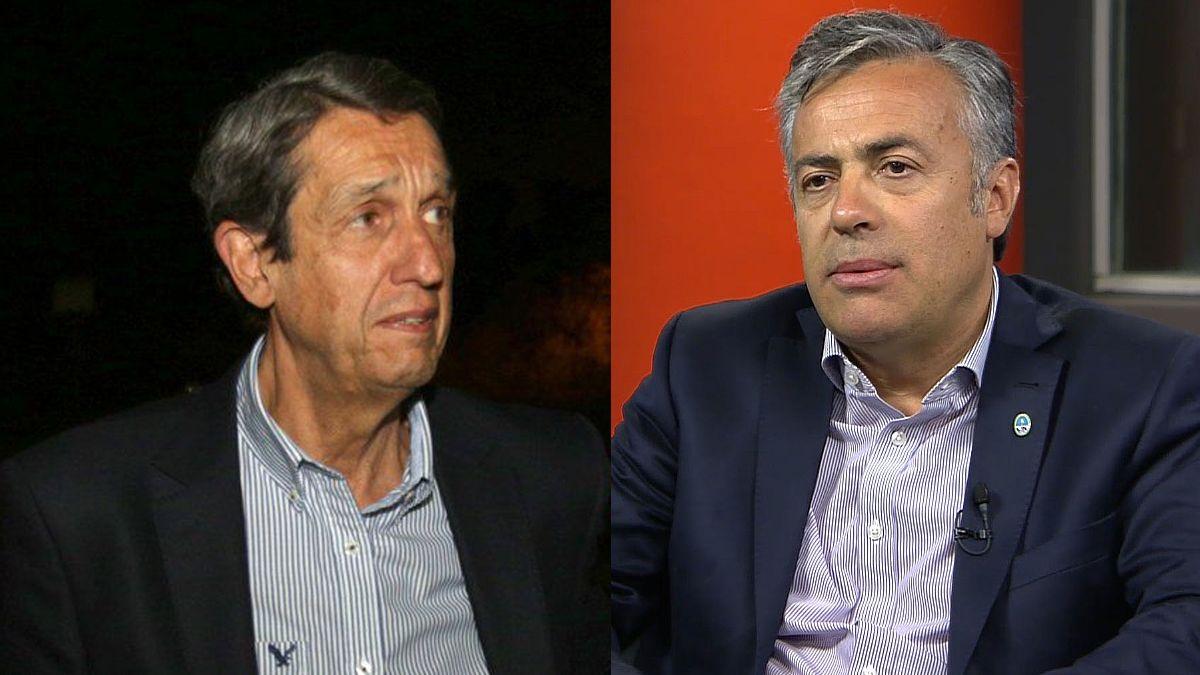 Los dos ex gobernadores