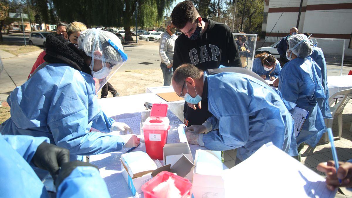 Hisopado y Testeos Covid - Coronavirus Mendoza