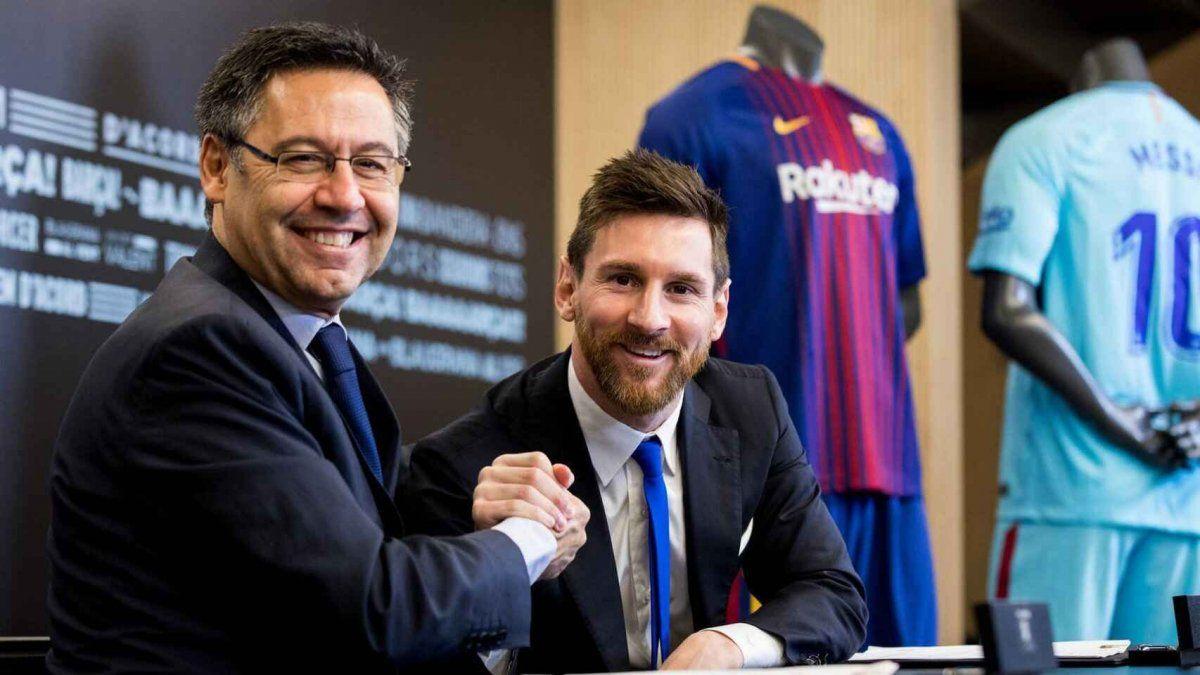 Bartomeu es el culpable si Messi se va