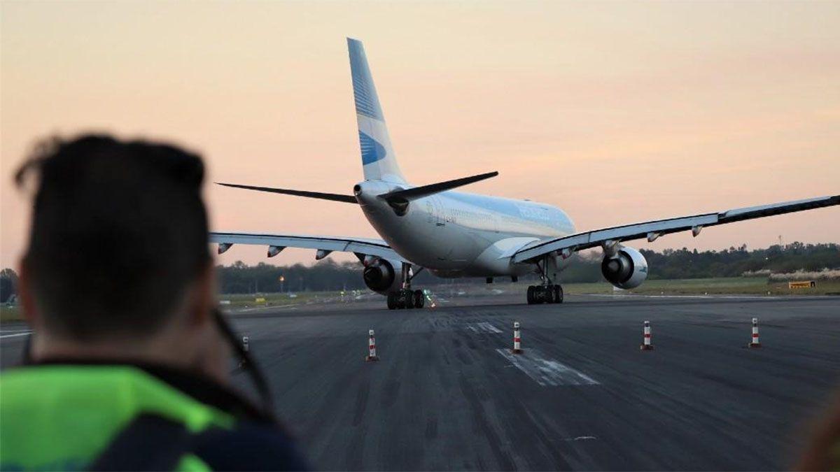 El vuelo de Aerolíneas Argentinas a Moscú está previsto para este martes a las 21.