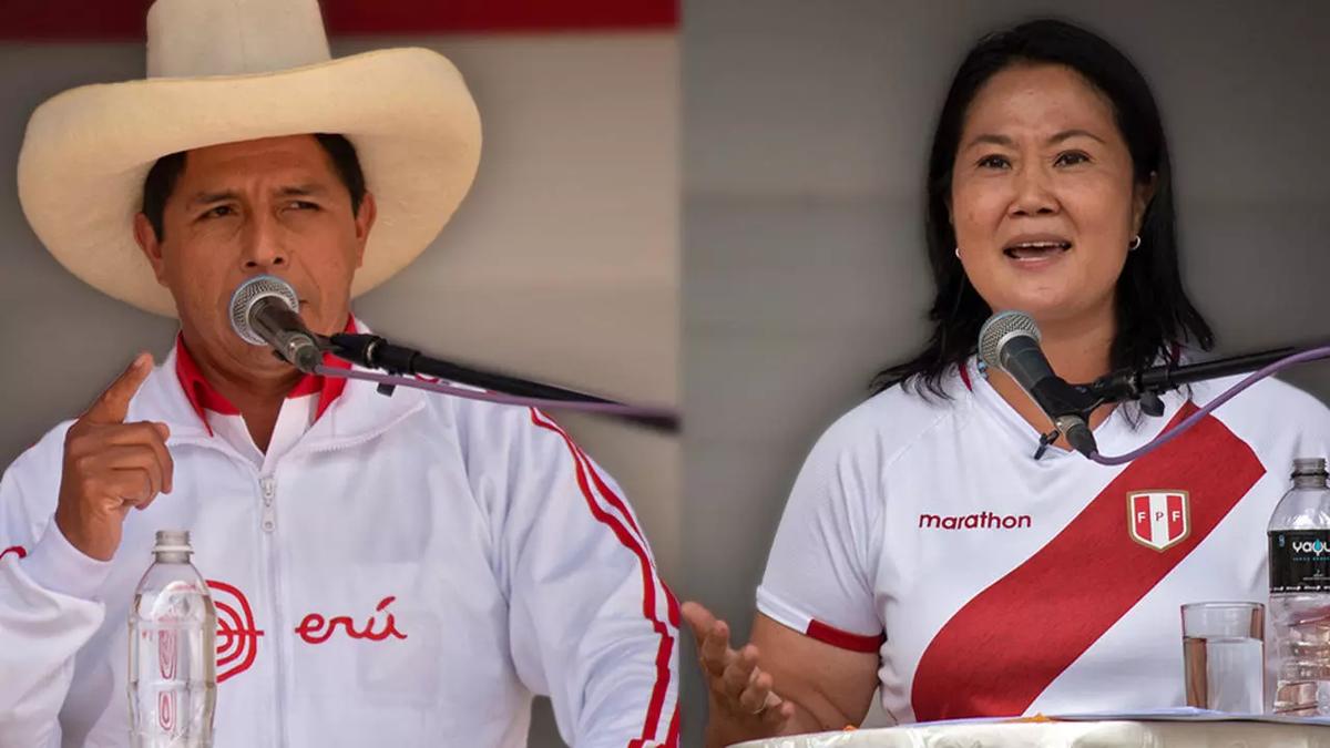 Los favoritos para estas elecciones son Pedro Castillo y Keiko Fujimori.