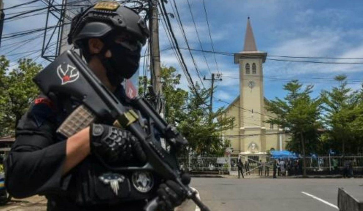 Indonesia: ataque suicida en la misa del Domingo de Ramos