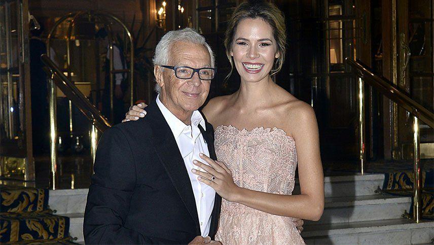 Las fotos de la boda del millonario Eduardo Constantini y la mendocina Elina Fernández