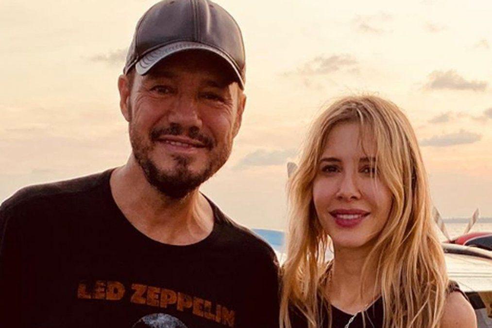 Marcelo Tinelli está en Mendoza junto a su mujer Guillermina Valdés en plan de vacaciones. Compartieron cena con Fabiana Calleja