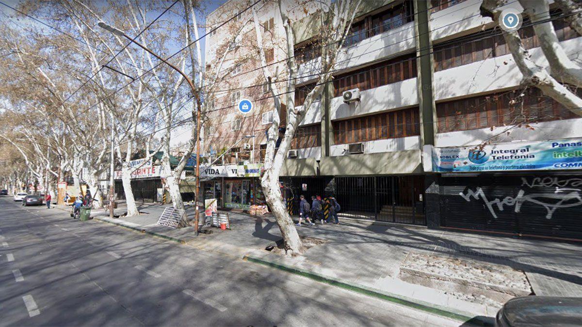 Miguel Grimalta vivía en un departamento de calle Godoy Cruz al 276