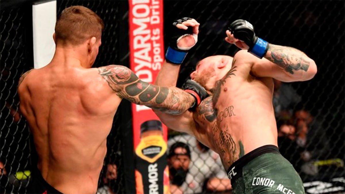 Poirier noqueó a McGregor en el segundo round del UFC 257.
