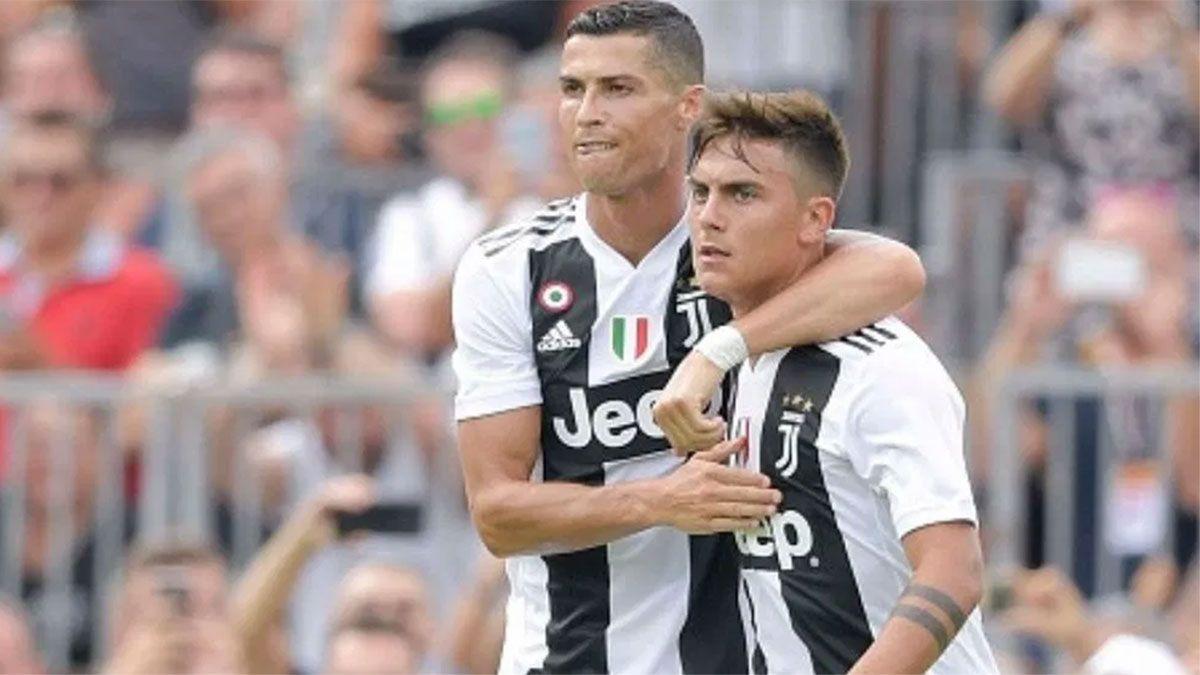 Dybala y Cristiano, candidatos a dejar la Juventus