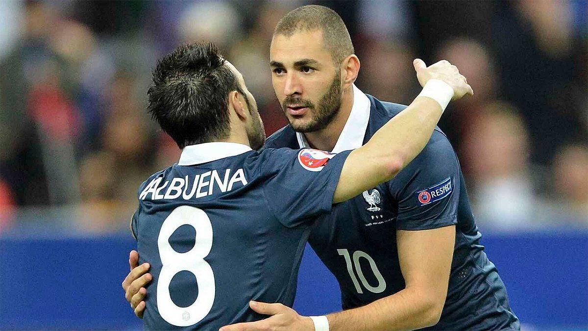 Karim Benzema incitó a Mathieu Valbuena a pagar a los extorsionadores.