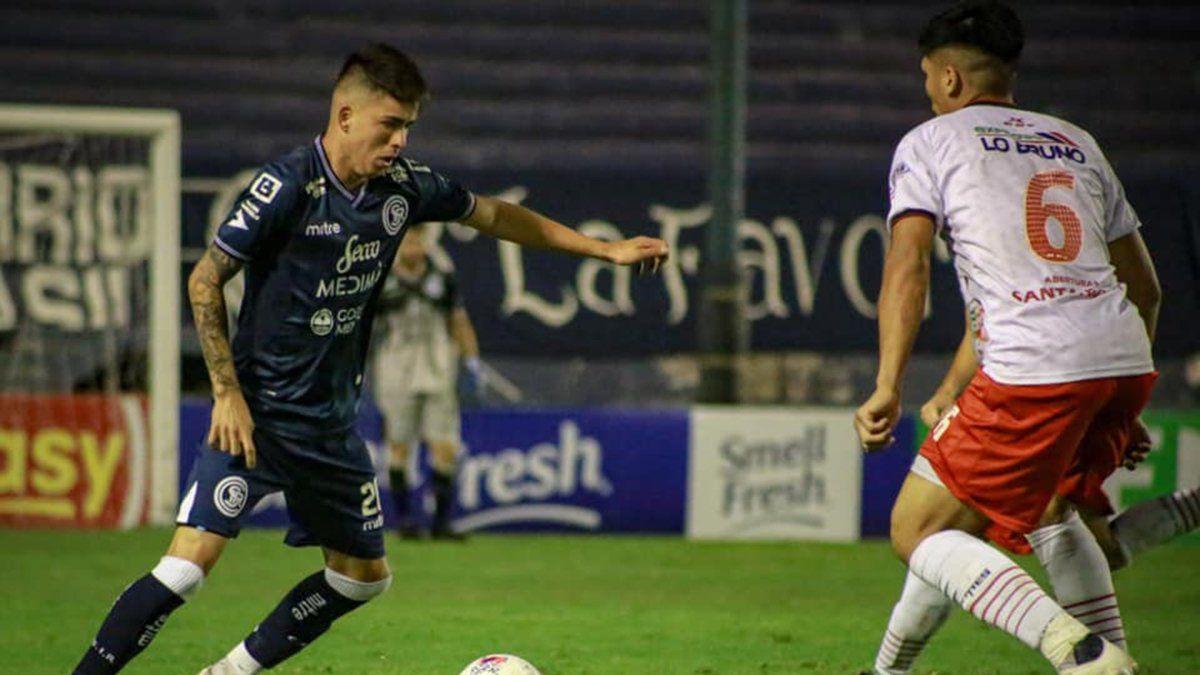 Leandro Berti fue muy importante en el triunfo ante Tristán Suárez.