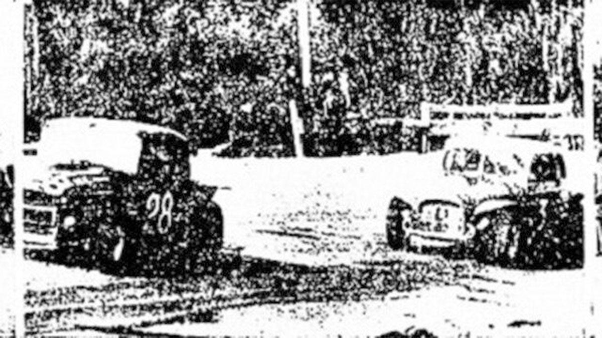 Una imagen de aquel primer Gran Premio Vendimia