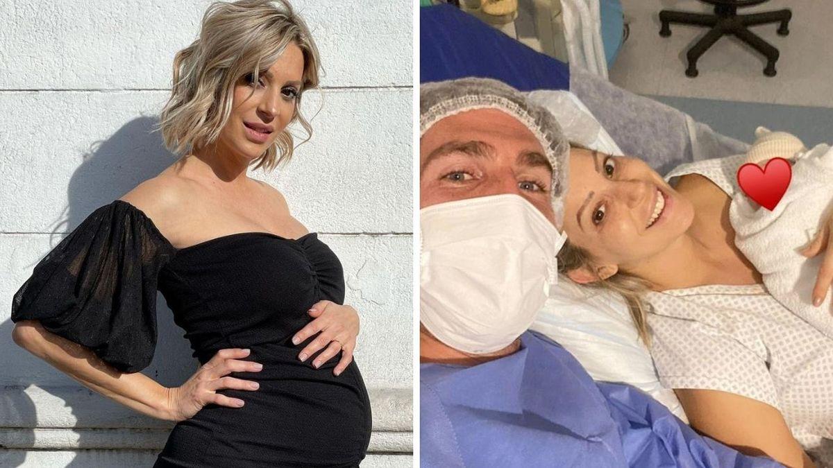 Noelia Marzol se convirtió en madre: nació Donatello