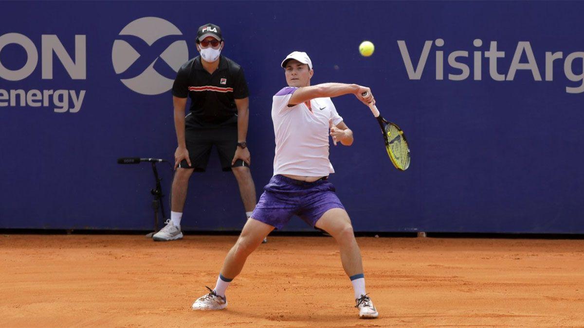Kecmanovic, el primer clasificado a cuartos del Argentina Open